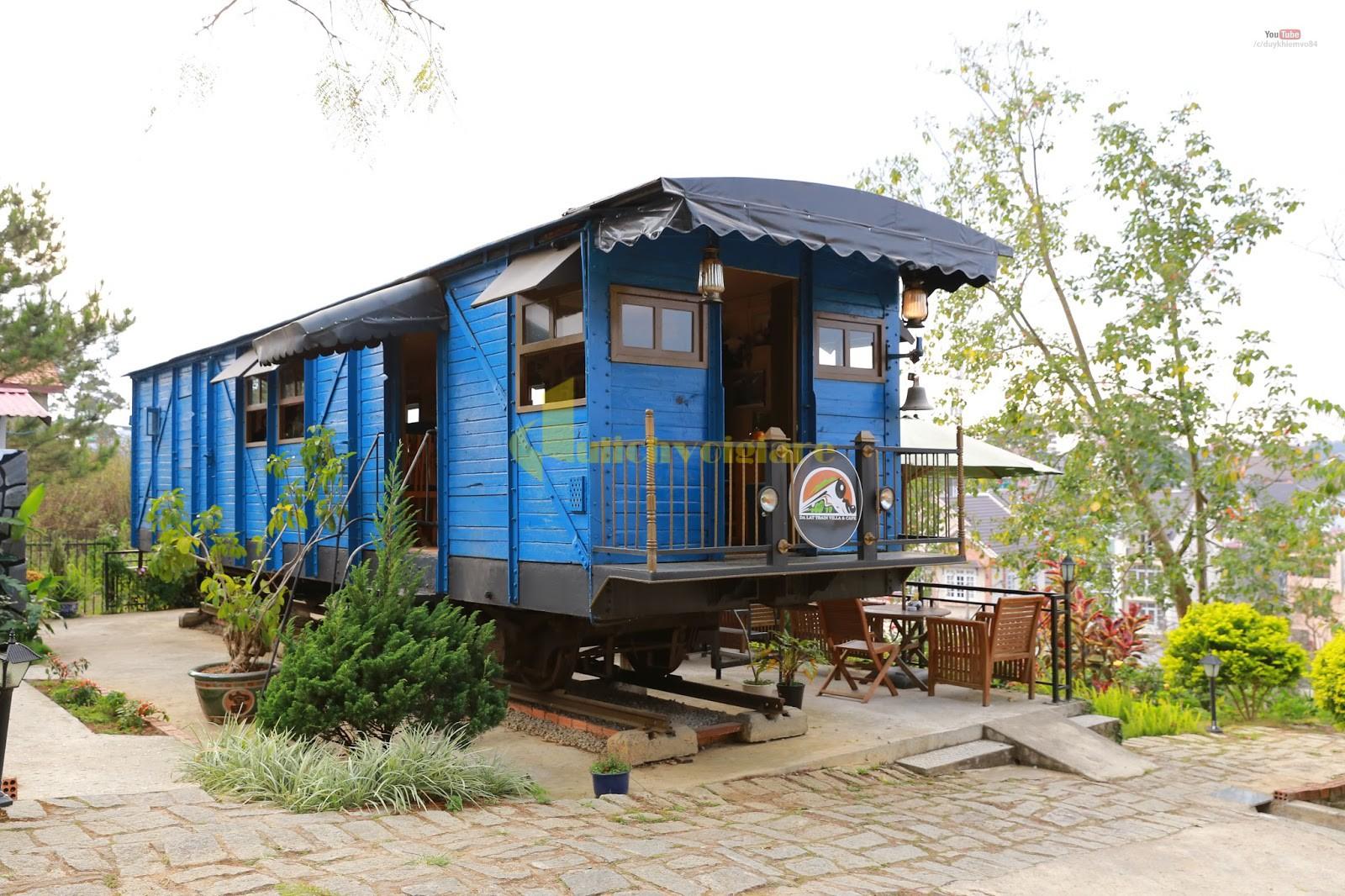 Dalat-Train-Villa-Cafe Dọc ngang Việt Nam, ghé thăm những quán cà phê chất ngất