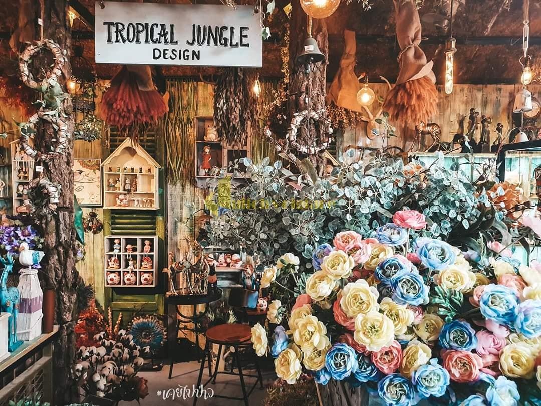jungle-cafe Top 10 Quán Cafe Nha Trang Đẹp Lung Linh