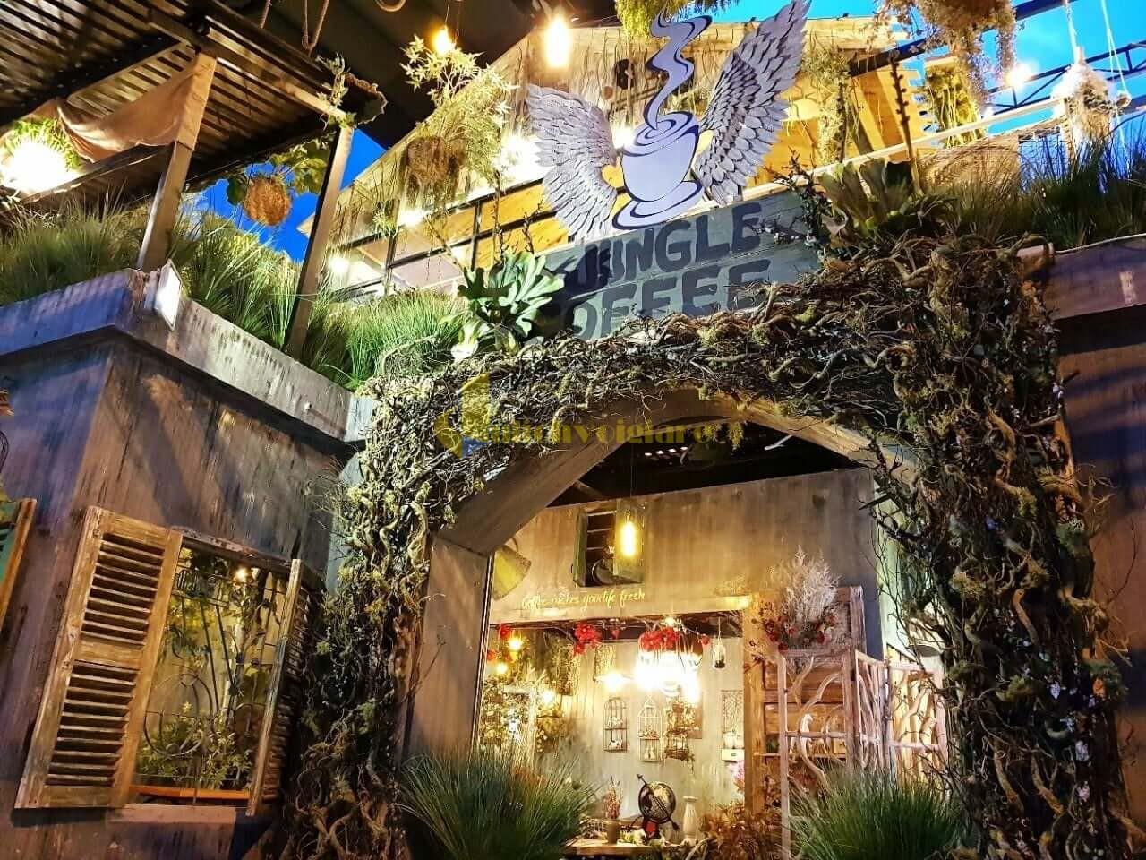 jungle-quan-ca-phe-thu-gian-o-nha-trang Top 10 Quán Cafe Nha Trang Đẹp Lung Linh