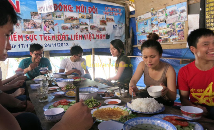 n-trưa Mũi Đôi - Cực Đông của Việt Nam