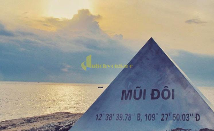 nh-thứ-3 Mũi Đôi - Cực Đông của Việt Nam