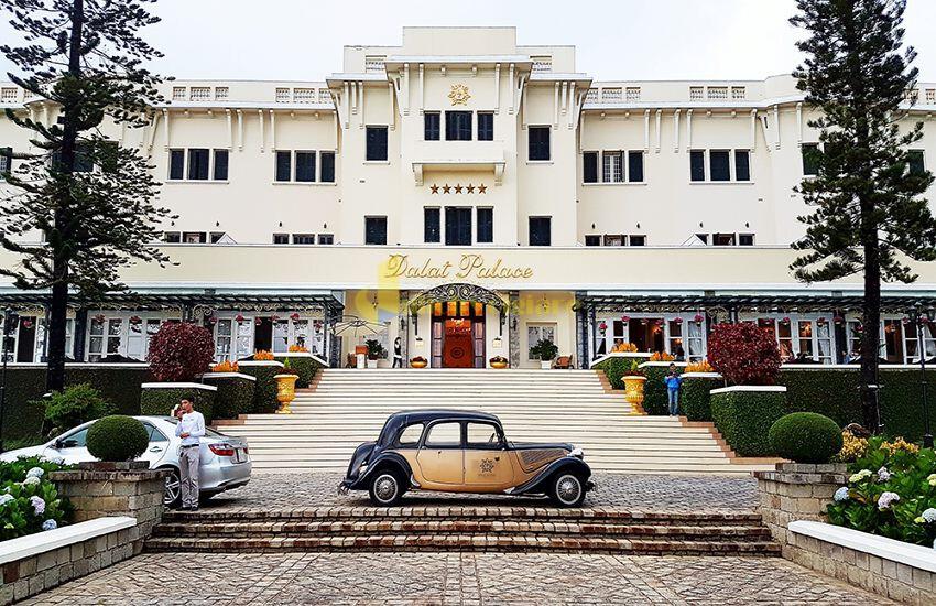 """Dalat-Palace-Hotel Top 24 """"Khách sạn 1-5*"""" gần Chợ Đà Lạt"""