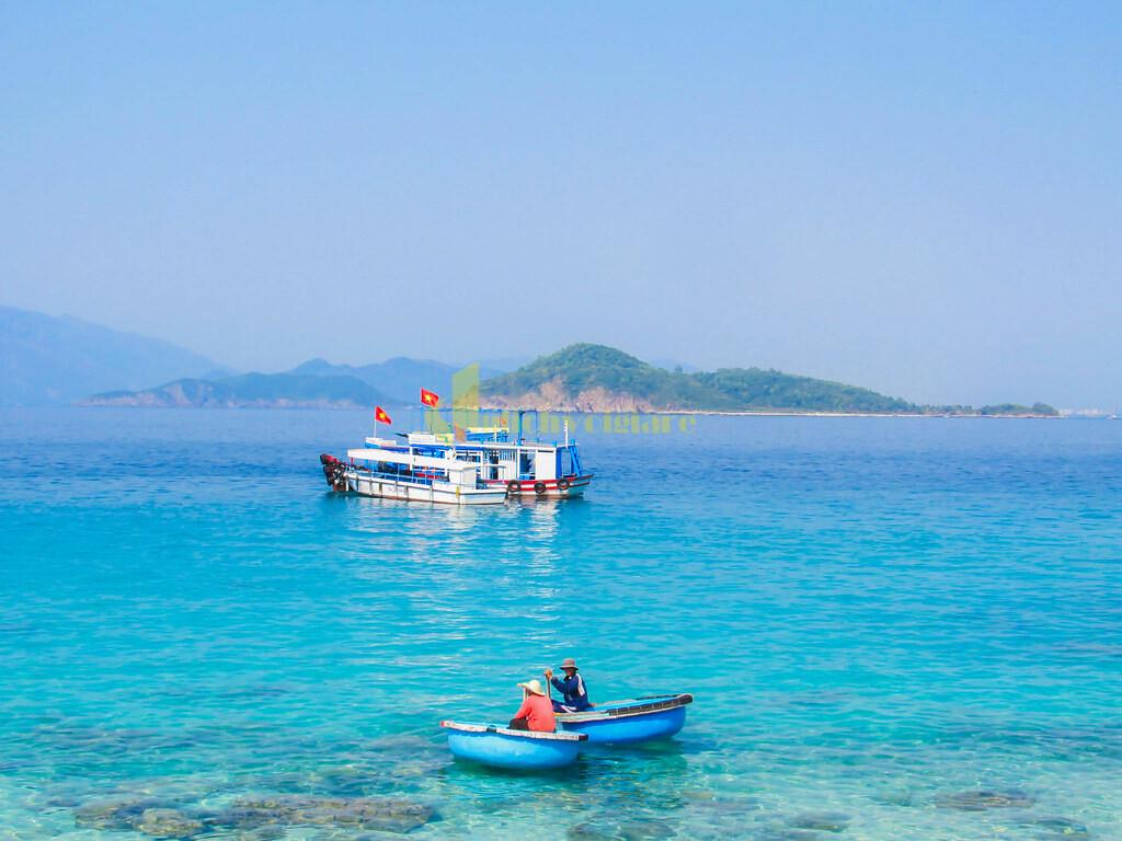 có-gì Review du lịch Hòn Mun - 1 trong 4 Vịnh đẹp ở Nha Trang