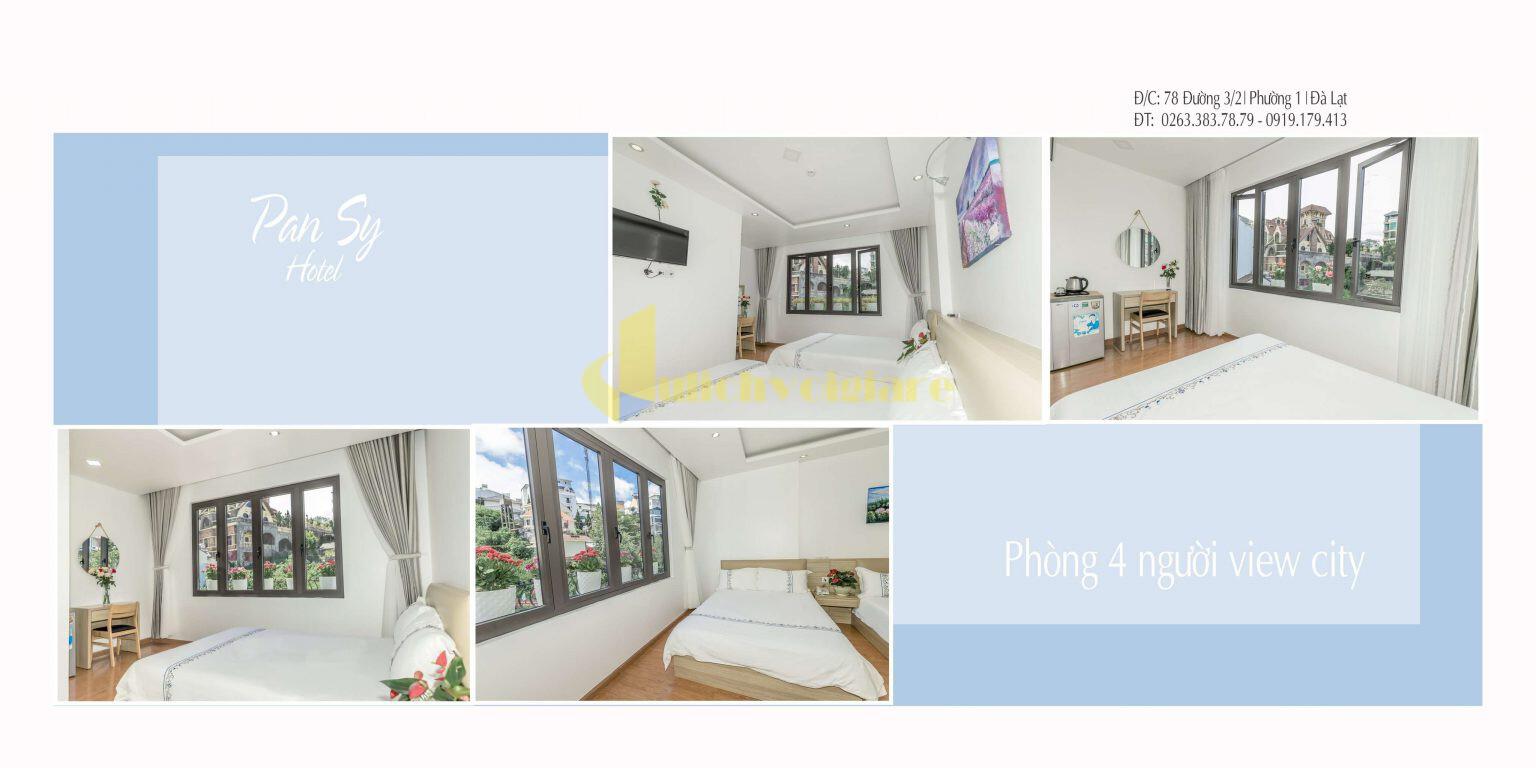 """khach-san-pansy-o-da-lat-1-1536x768-1 Top 24 """"Khách sạn 1-5*"""" gần Chợ Đà Lạt"""