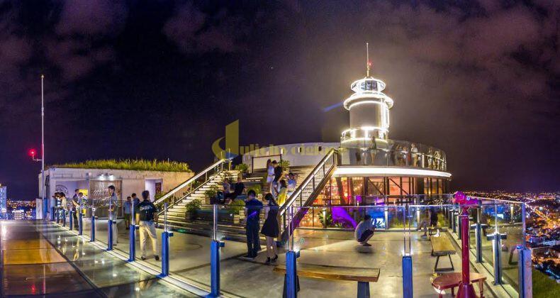 lighthouse Bùng cháy tại Skylight - skybar cao & chất số 1 tại Nha Trang