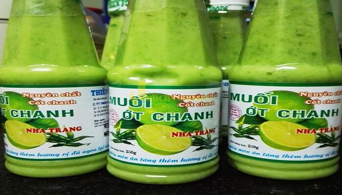 muối-ớt-xanh-1 Top 7 Món Đặc Sản Thích Hợp Để Làm Quà Khi Đến Nha Trang