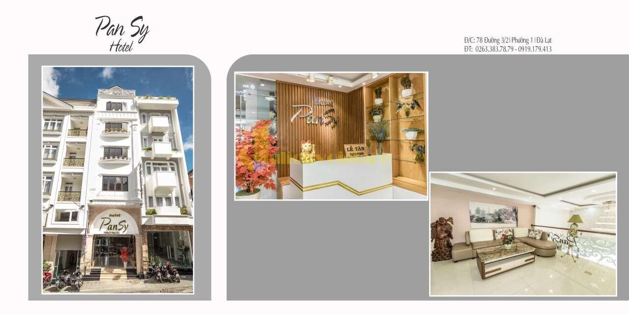 """review-khach-san-pansy-da-lat-1 Top 24 """"Khách sạn 1-5*"""" gần Chợ Đà Lạt"""