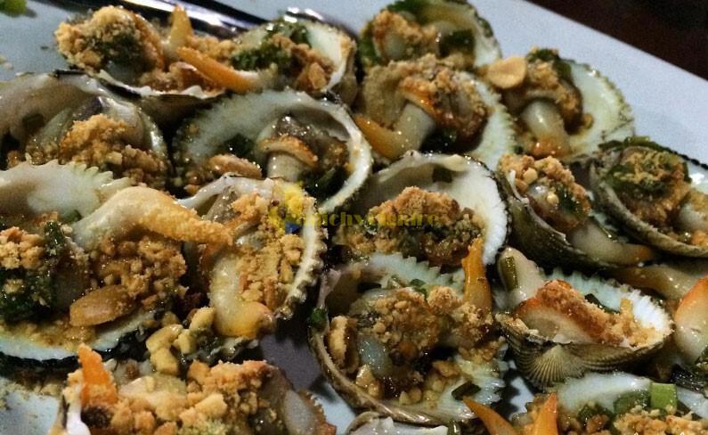 sò-nướng-mỡ-hành Bình Ba - Quốc đảo Tôm Hùm Số 1 Khánh Hòa
