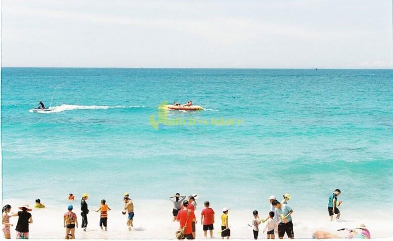 thuyền-chuối Bình Ba - Quốc đảo Tôm Hùm Số 1 Khánh Hòa